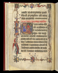 The Adoration Of The Magi, In 'The Lovell Lectionary'